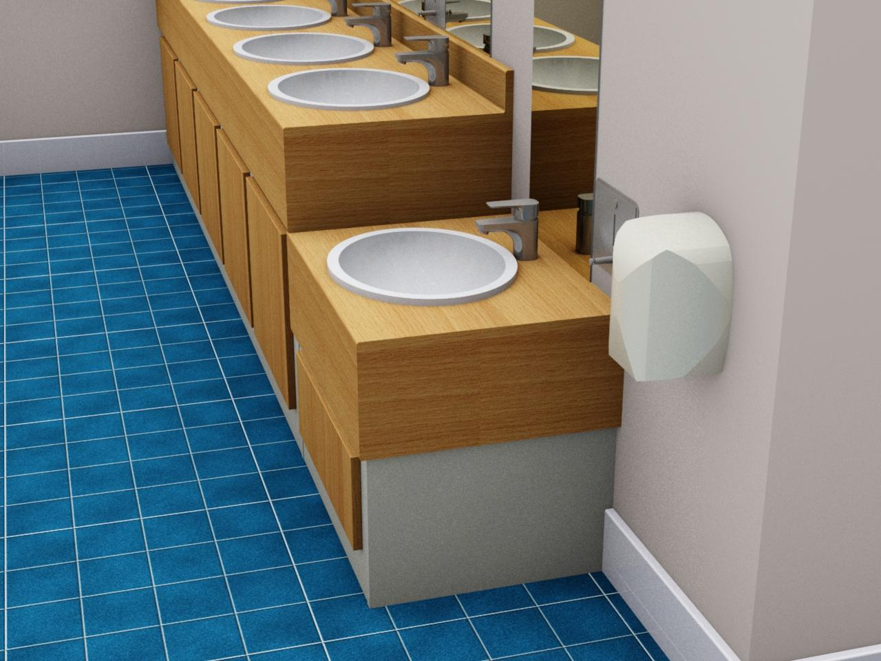 Original Washroom Toilet Cubicles Vanity Unis And Service