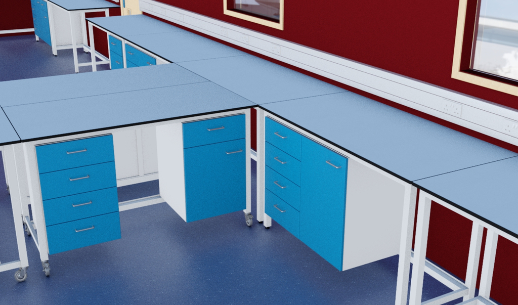 Modular Tables, Benches & Units