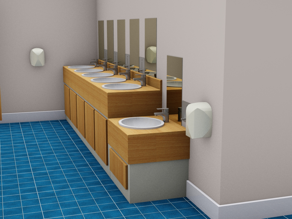 Washroom Vanity Systems