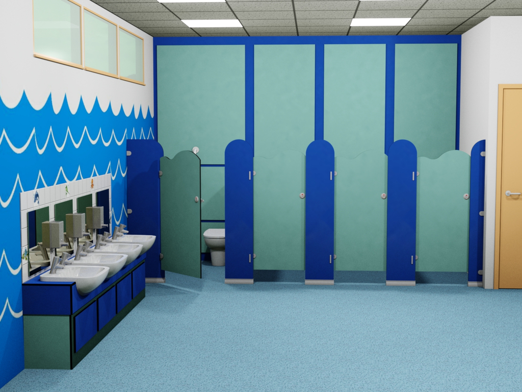 Cloakrooms and Washrooms